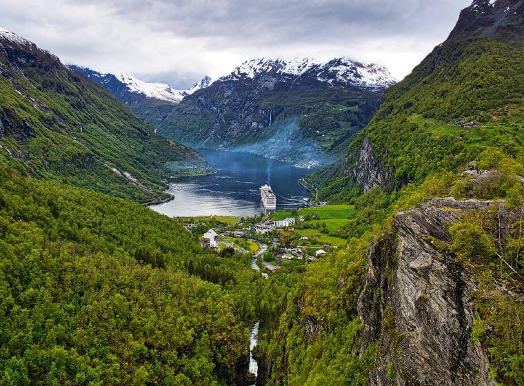 Geiranger, Norway, Scandinavia Road Trips, European Road Trip Guides