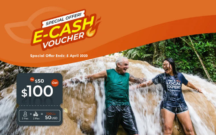 TakeMeTour E-Cash Voucher Special Offer