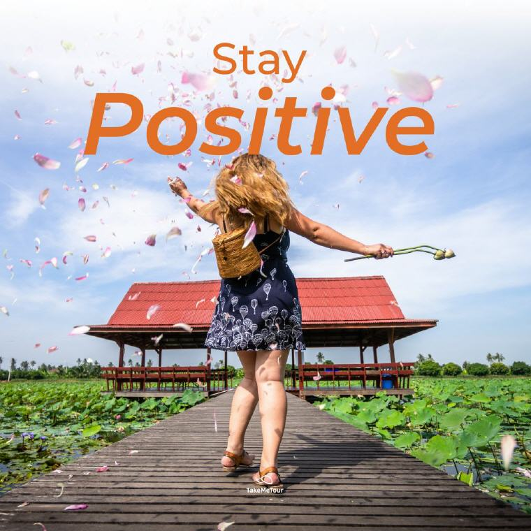 TakeMeTour E-Cash Voucher Stay Positive