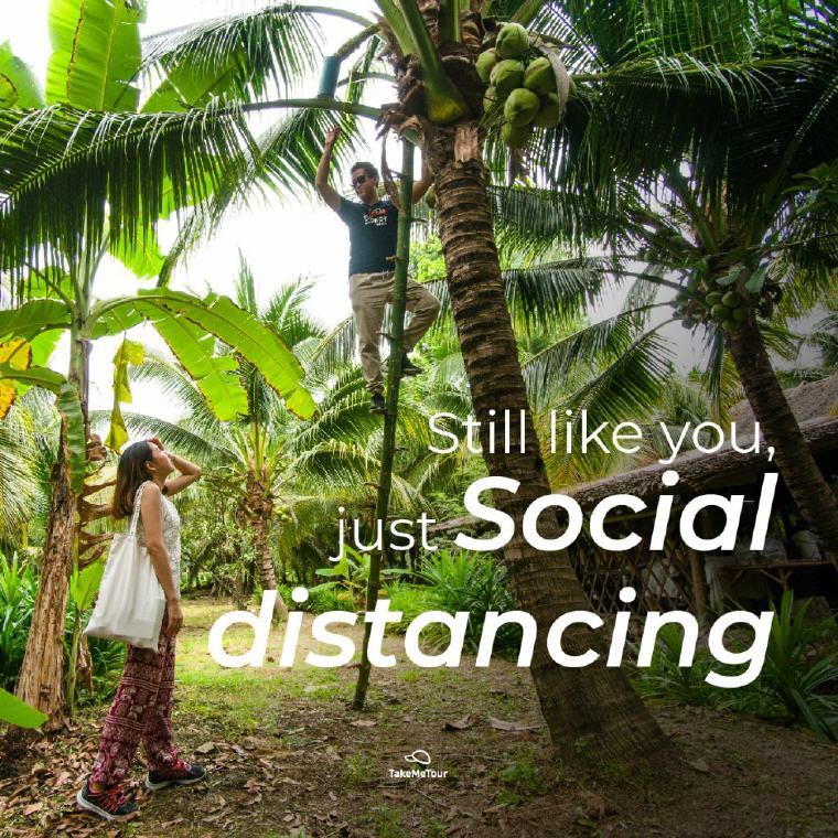 TakeMeTour E-Cash Voucher Still like you, just social distancing